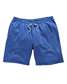 Jacamo Blue Marl Fleece Shorts