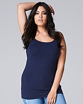 Navy Stretch Camisole