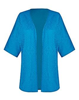 Jersey Jacquard Kimono