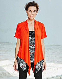 Roll-Up Sleeve Shrug