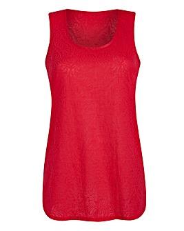 Watermelon Jersey Jacquard Vest
