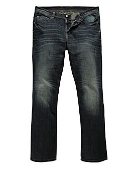 Flintoff By Jacamo Straight Jeans 33in