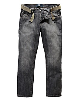 UNION BLUES Stretch Tapered Jean 33in