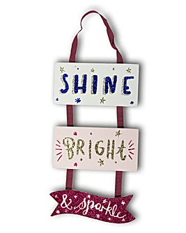 Shine Bright Plaques