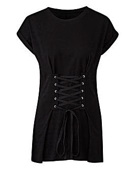 Black Corset T-shirt