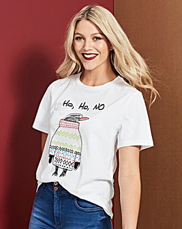 Ho Ho No Penguin T-Shirt