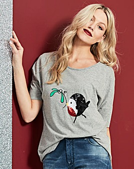 Robin Mistletoe T-shirt