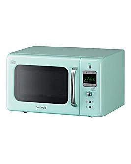 Daewoo 800W 20Litre Mint Microwave