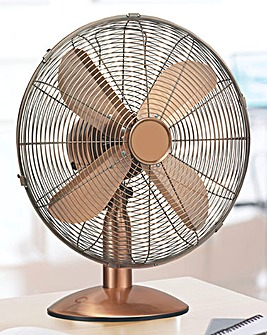10 Inch Copper Desk Fan