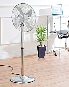 16 Inch Chrome Stand Fan
