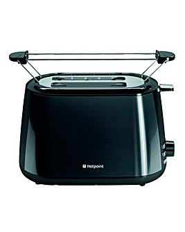 Hotpoint MyLine 2-Slice Black Toaster
