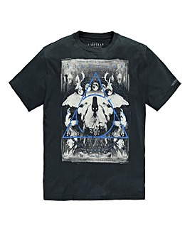 Firetrap Twin Pines T-Shirt Long