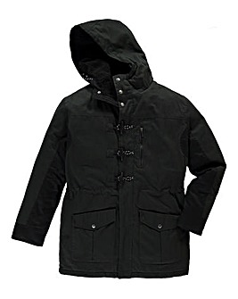 Firetrap Badger Hooded Jacket Long