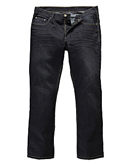 Flintoff by Jacamo Coated Jeans 29in