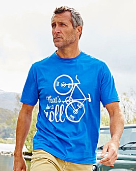 Snowdonia How I Roll T-Shirt Regular