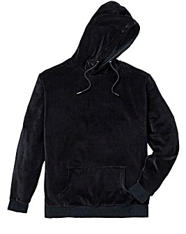 Label J Velour Hoodie Long