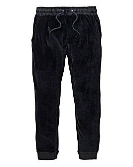 Label J Velour Jogpant Reg