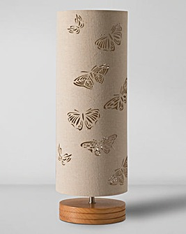 Butterfly Cut-Out Table Lamp