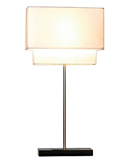 Two Tier Table Lamp