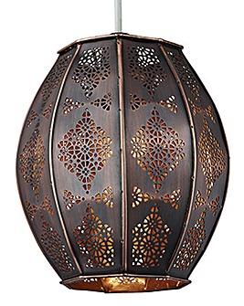 Bronze Marrakesh Non-Electric Pendant