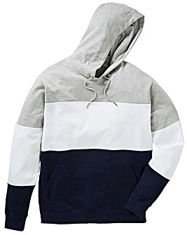 Label J Colour Block Hoody Long