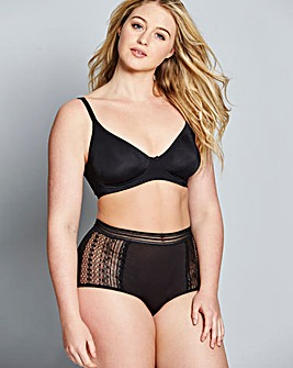 Sienna Back Smoothing Full Cup Bra Black