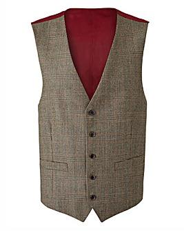 Brook Taverner Tennyson Check Waistcoat