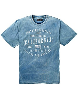 Label J Brooklyn Dip Dye Tee Long