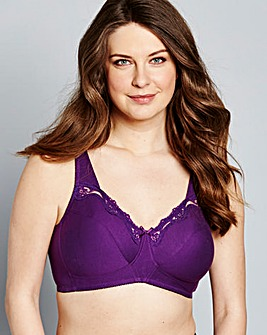 Sarah Non Wired Grape Bra