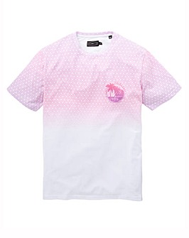 Label J Geo Fade Tee Long