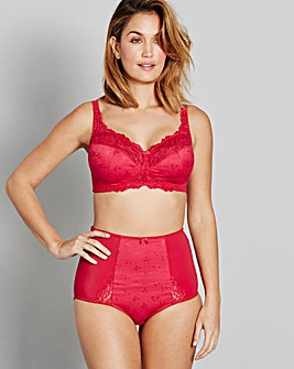 Ruby Non Wired Red Bra