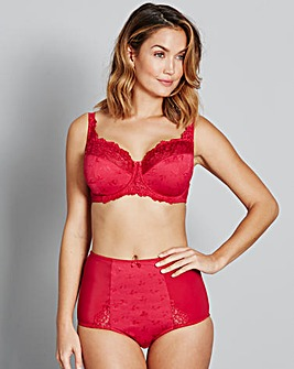 Ruby Full Cup Wired Red Bra