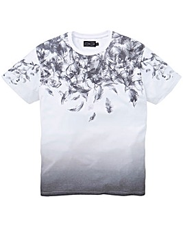 Label J Smoke Feather T-Shirt Long