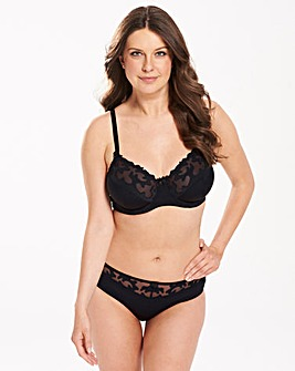 2 Pack Emily Full Cup Black/White Bras