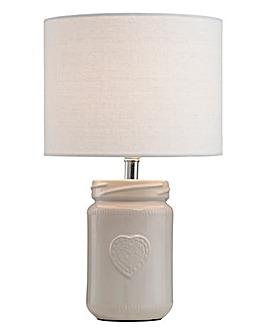 Kendal Ceramic Jar Lamp