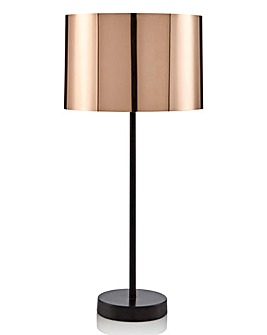Brooklyn Copper Shiny Table Lamp