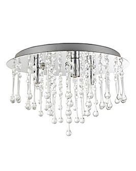 Pandora Acrylic Drops Ceiling Light