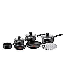 Tefal Delight Black 7 Piece Pan Set