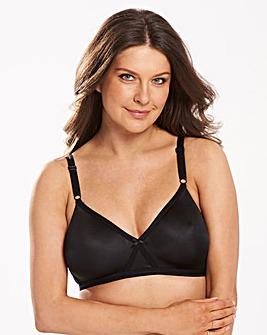 2 Pack Claire Non Wired Skin/Black Bras