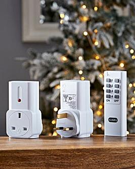 Remote Control Plug Sockets Set