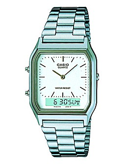Casio Gents Silver-tone Bracelet Watch