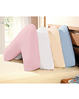 Hollowfibre V Shape Support Pillow&Cases