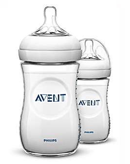 Philips Avent Natural Feed Bottle 260 x2