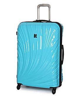 IT Luggage 70cm Large Suitcase - Blue