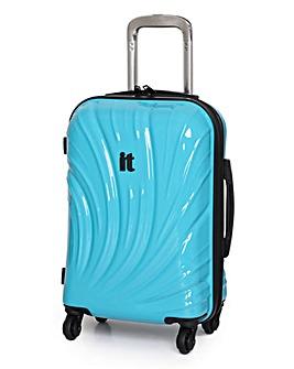 IT Luggage 49cm Cabin Suitcase - Blue