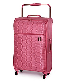 IT Luggage 61cm Medium Suitcase - Rose