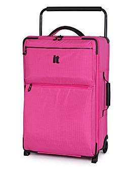 IT Luggage 62cm Medium Suitcase - Pink