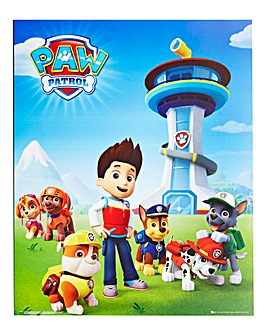 Paw Patrol Poster Board