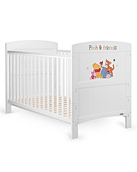 Obaby Winnie The Pooh & Friends Cot Bed