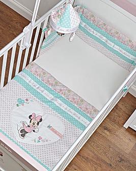 Minnie Mouse Quilt & Bumper 2 Pc Set